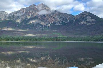 Pyramid Mountain and Lake